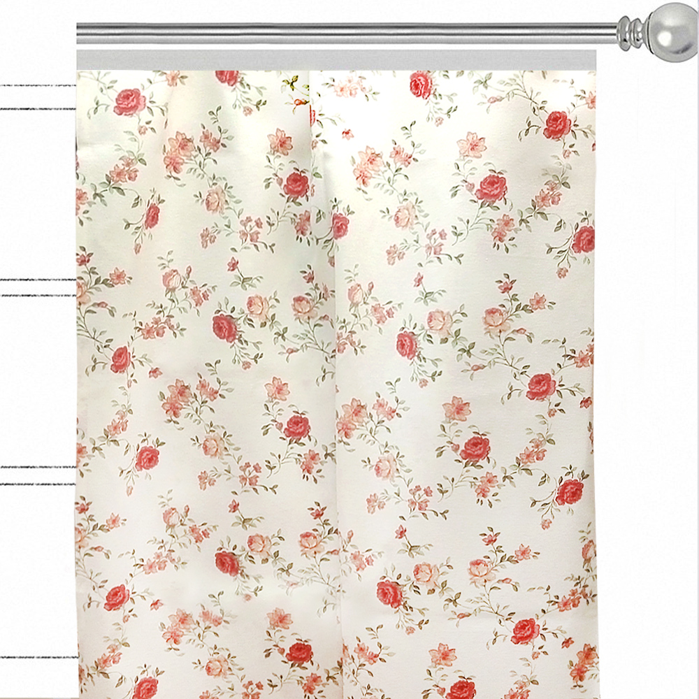 """Штора Altali """"Жасмин"""", на ленте, цвет: розовый, высота 270 см. P708-1810/1"""