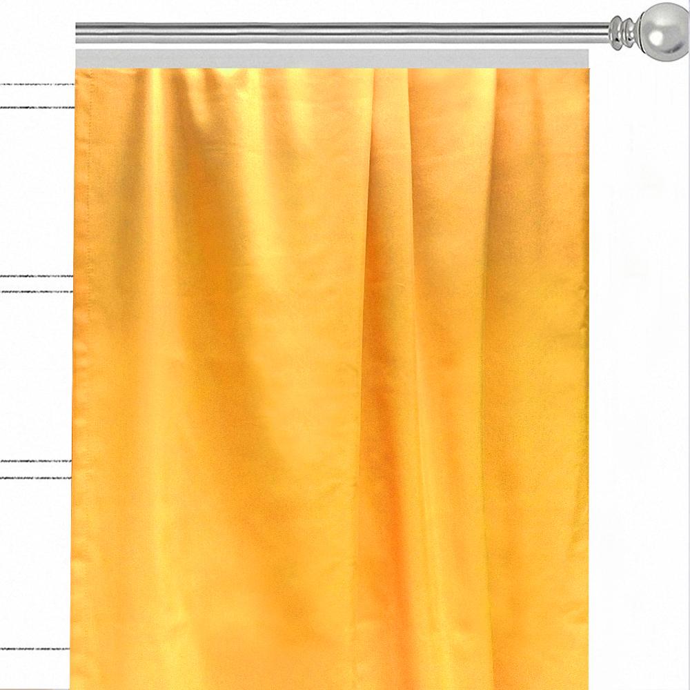 """Штора Altali """"Лючия"""", на ленте, цвет: желтый, высота 270 см. P708-Z136/1"""