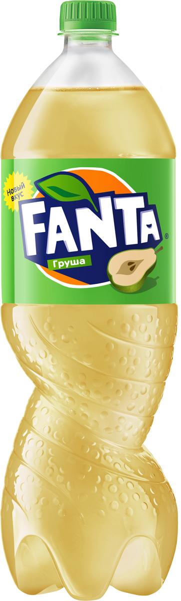 Fanta Груша напиток сильногазированный, 1,5 л fanta цитрус напиток сильногазированный 1 5 л