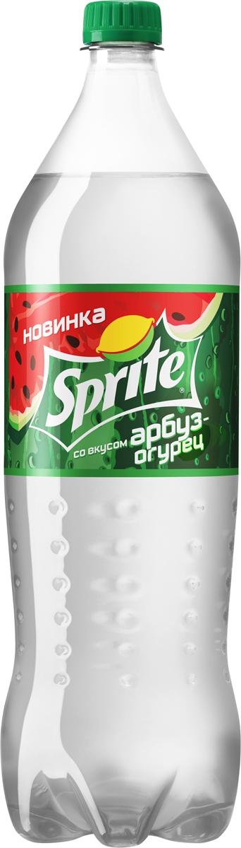 Sprite Арбуз-огурец напиток сильногазированный, 1,5 л sprite напиток сильногазированный 1 л
