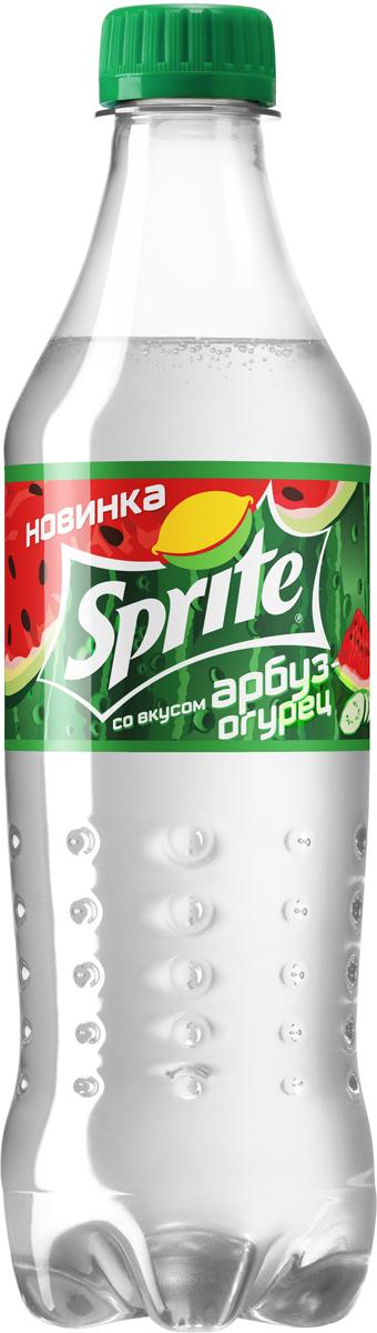 Sprite Арбуз-огурец напиток сильногазированный, 0,5 л sprite напиток сильногазированный 1 л