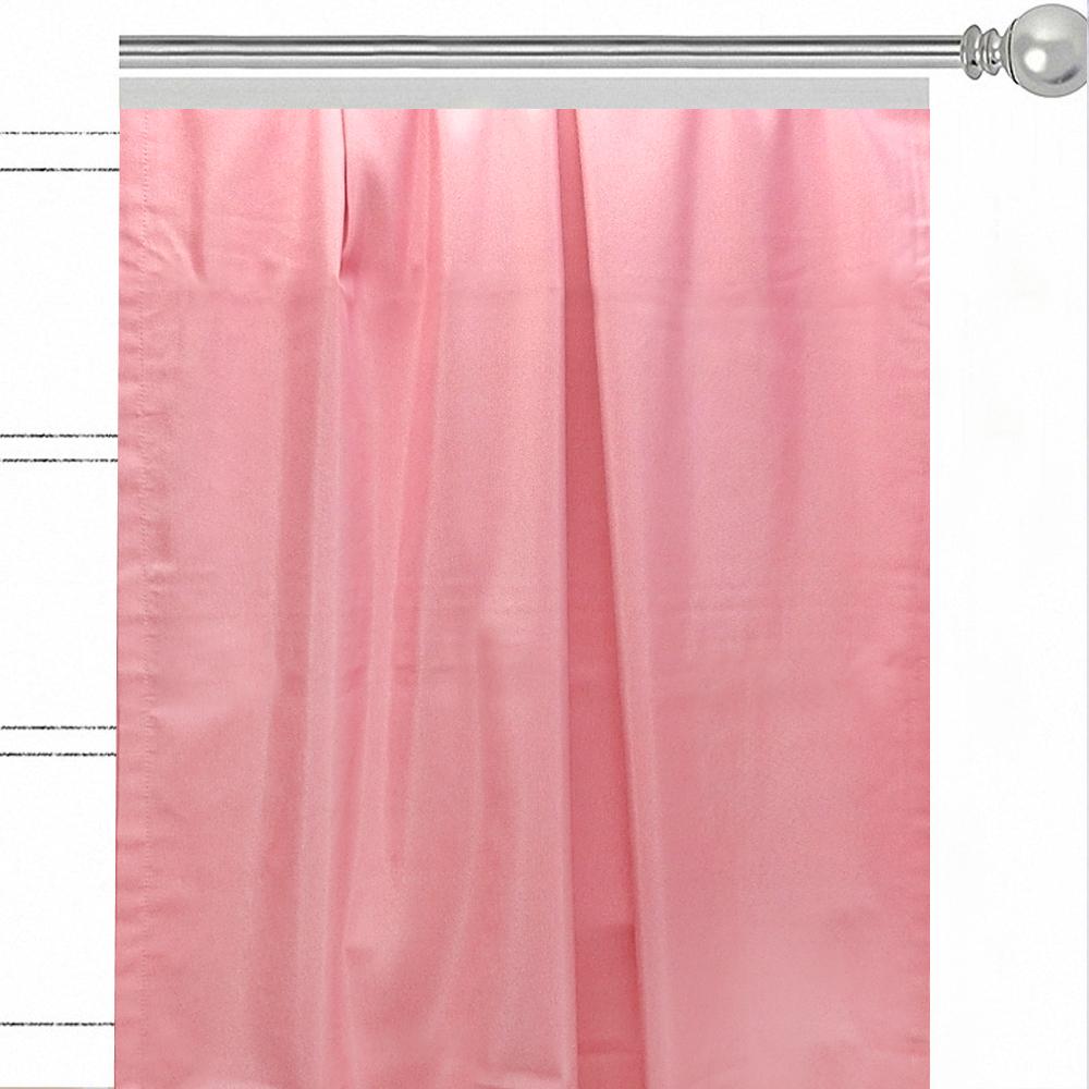 "Штора Altali ""Роза"", на ленте, цвет: розовый, высота 270 см. P708-Z118/1"