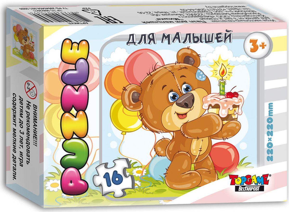 TopGame Пазл для малышей Мишка Пушистик