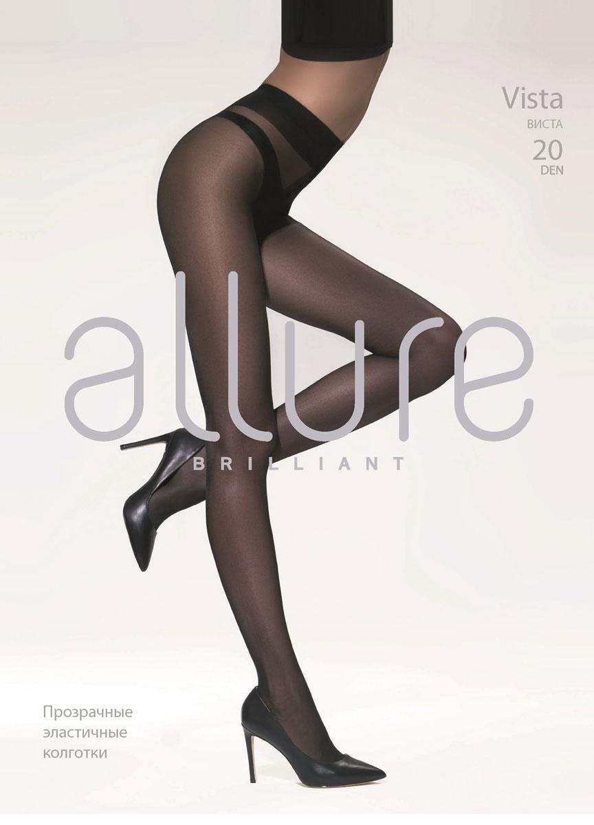 Колготки Allure Vista 20, цвет: Glase (бронза). Размер 5 колготки allure allure mp002xw134cf