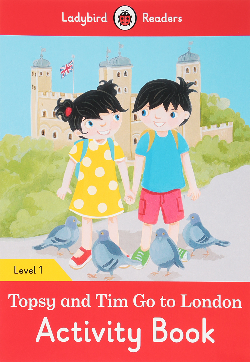 Topsy and Tim Go to London: Activity Book: Level 1 topsy and tim go to the zoo pb