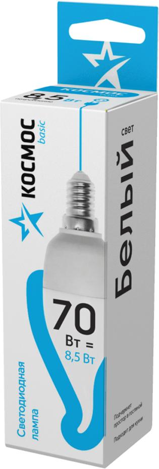 Декоративная светодиодная лампа-свеча на ветру 8.5 Вт серии Космос BASIC является аналогом лампы накаливания 70 Вт. В основе лампы используются чипы от мирового лидера Epistar, что обеспечивает надежную и стабильную работу в течение всего срока службы (25 000 часов). До 90% экономии энергии по сравнению с обычной лампой накаливания (сопоставимы по размеру); стабильный световой поток в течение всего срока службы; экологическая безопасность (не содержит ртути и тяжелых металлов); мягкое и равномерное распределение света повышает зрительный комфорт и снижает утомляемость глаз; благодаря высокому индексу цветопередачи свет лампы комфортен и передает естественные цвета и оттенки; инструкция по эксплуатации и гарантийный талон - в комплекте.