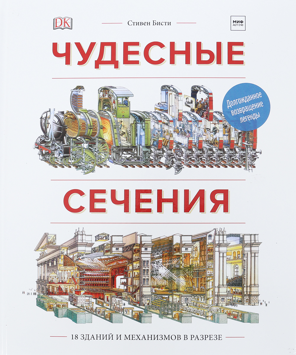 Чудесные сечения. 18 зданий и механизмов в разрезе, Искусство, архитектура, религия  - купить со скидкой