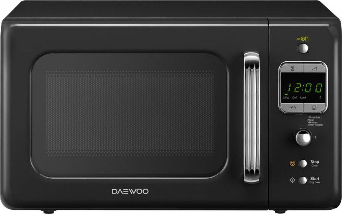 Daewoo KOR-6LBRB, Black микроволновая печь