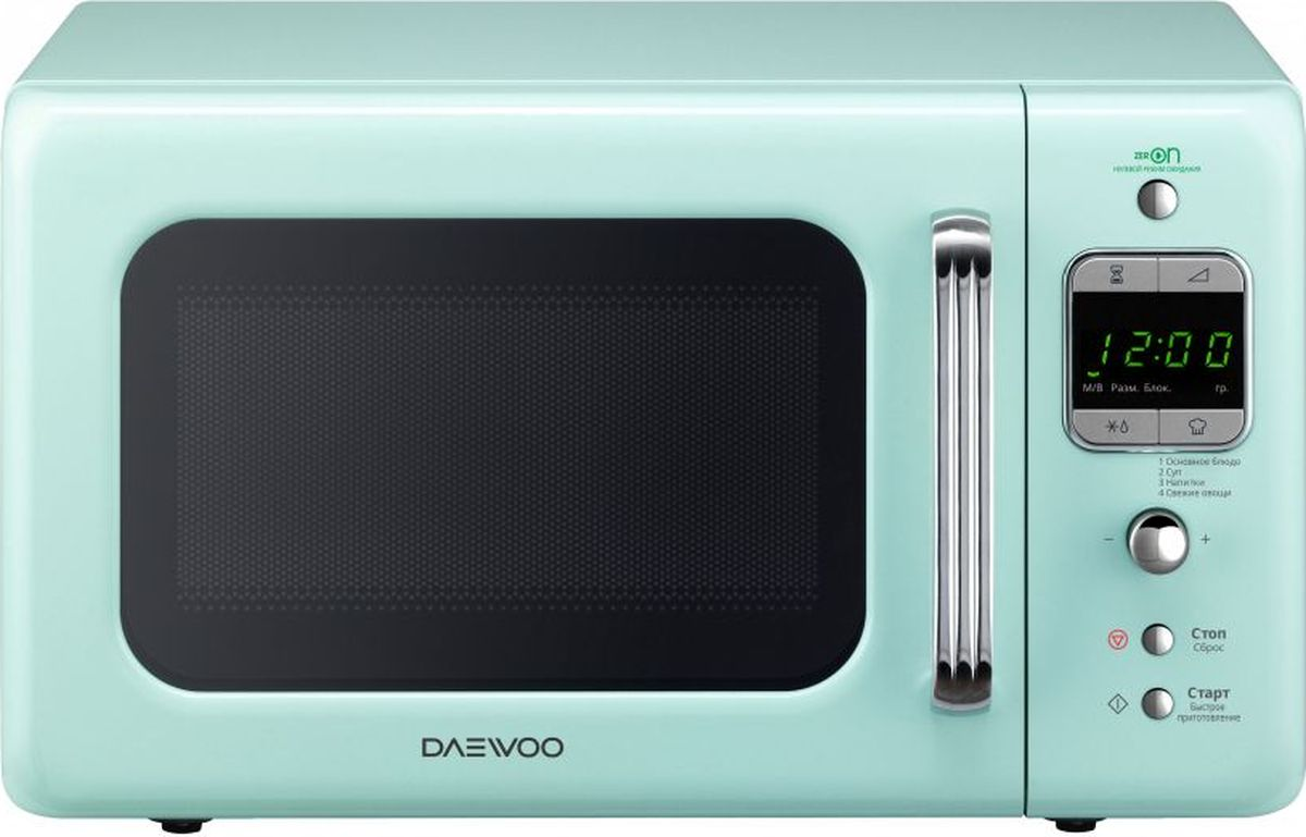 Daewoo KOR-6LBR, Blue микроволновая печь - Микроволновые печи