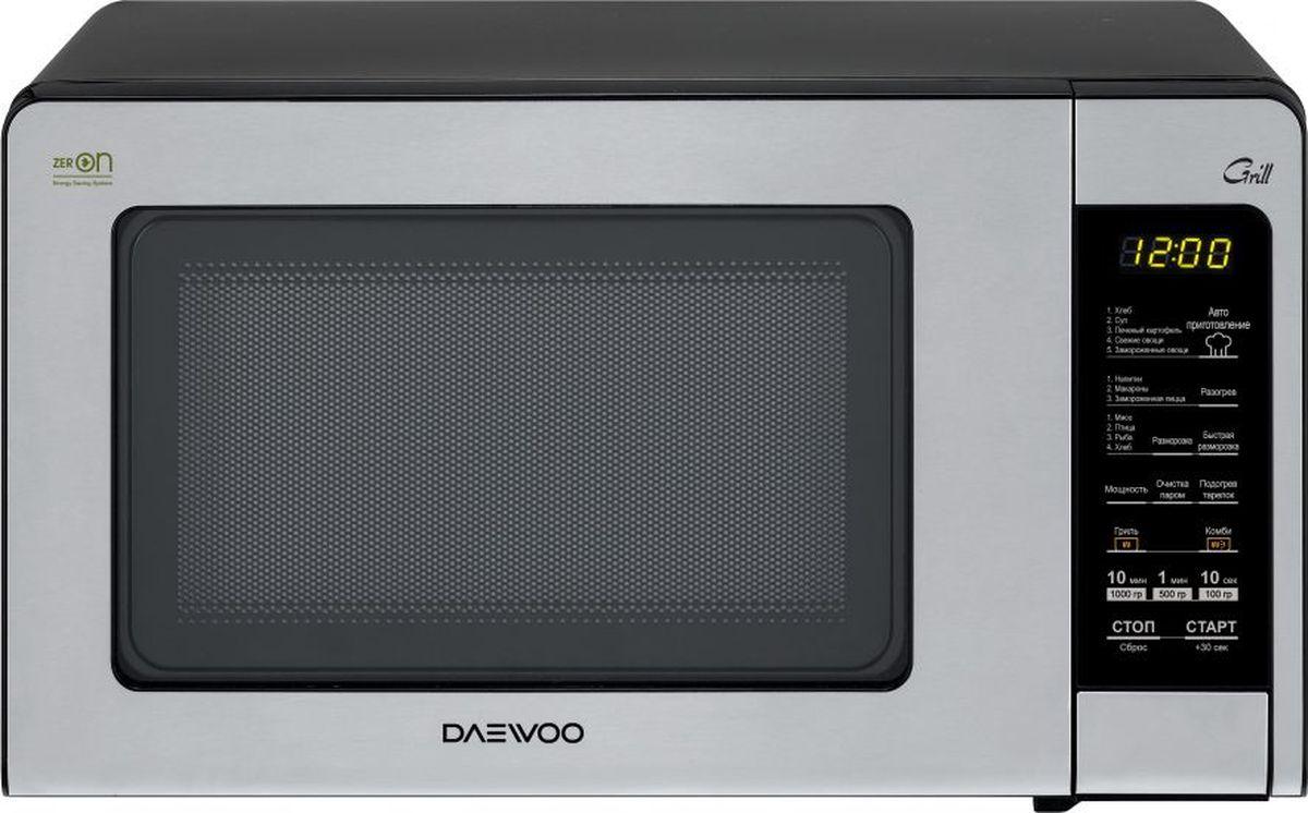 Daewoo KQG-664B, Silver микроволновая печь - Микроволновые печи