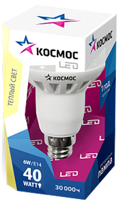 Декоративная светодиодная лампа R50 8 Вт серии Космос Стандарт является аналогом лампы накаливания 60 Вт. В основе лампы используются чипы от мирового лидера Epistar, что обеспечивает надежную и стабильную работу в течение всего срока службы (30 000 часов). До 90% экономии энергии по сравнению с обычной лампой накаливания (сопоставимы по размеру); стабильный световой поток в течение всего срока службы; экологическая безопасность (не содержит ртути и тяжелых металлов); мягкое и равномерное распределение света повышает зрительный комфорт и снижает утомляемость глаз; благодаря высокому индексу цветопередачи свет лампы комфортен и передает естественные цвета и оттенки; инструкция по эксплуатации и гарантийный талон - в комплекте.