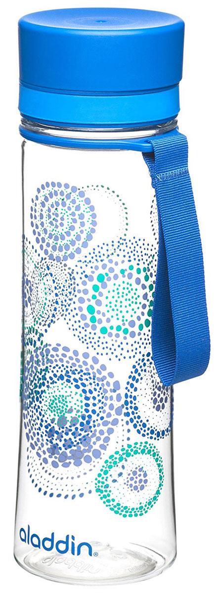Бутылка для воды Aladdin Aveo, цвет: синий, 0,6 л10-01102-077Стильная бутылка для воды Aladdin Aveo изготовленаиз материала Tritan, не сохраняющего запахи, не взаимодействующего снапитками при повышении температуры. Изделие оснащено крышкой,которая плотно и герметично закрывается.Употребление достаточного количества жидкости -важнаячасть спортивного режима. Благодаря эргономичнойформеэту бутылку удобно носить в руках.Можно мыть в посудомоечной машине.