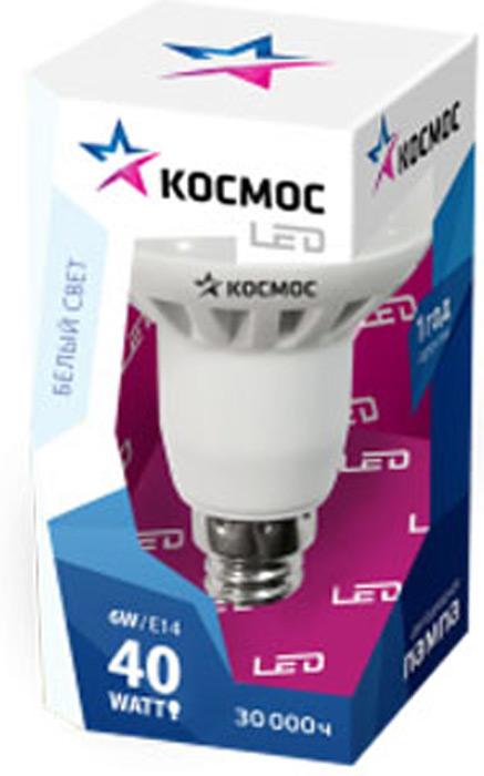 Лампа светодиодная Космос Стандарт, R50, 220V, нейтральный свет, цоколь E14, 8WLksm_LED8wR50E1445Декоративная светодиодная лампа R50 8 Вт серии Космос Стандарт является аналогом лампы накаливания 60 Вт. В основе лампы используются чипы от мирового лидера Epistar, что обеспечивает надежную и стабильную работу в течение всего срока службы (30 000 часов). До 90% экономии энергии по сравнению с обычной лампой накаливания (сопоставимы по размеру); стабильный световой поток в течение всего срока службы; экологическая безопасность (не содержит ртути и тяжелых металлов); мягкое и равномерное распределение света повышает зрительный комфорт и снижает утомляемость глаз; благодаря высокому индексу цветопередачи свет лампы комфортен и передает естественные цвета и оттенки; инструкция по эксплуатации и гарантийный талон - в комплекте.