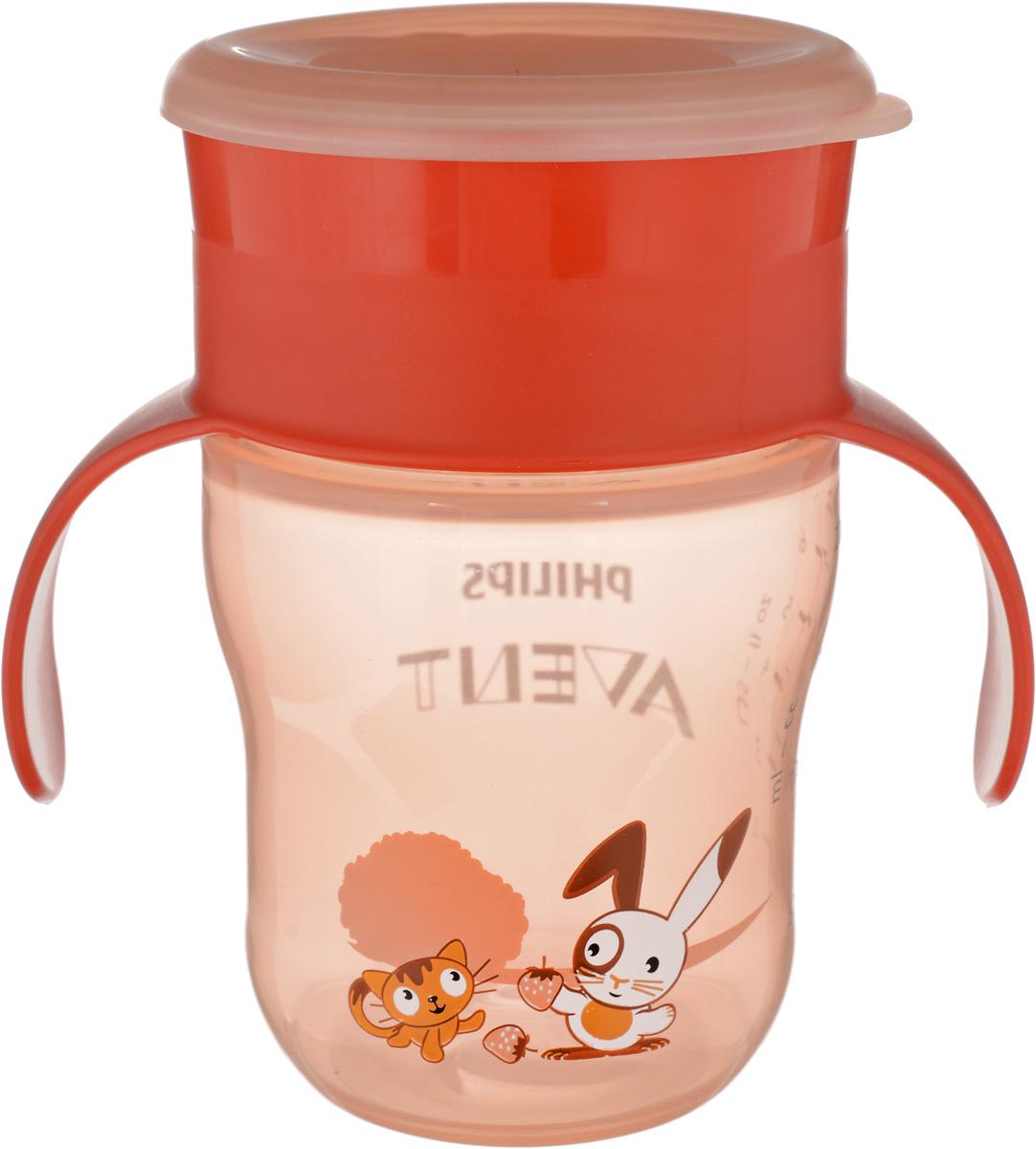 Philips Avent Чашка-поильник от 12 месяцев цвет оранжевый 260 мл philips bdp 2180k 51