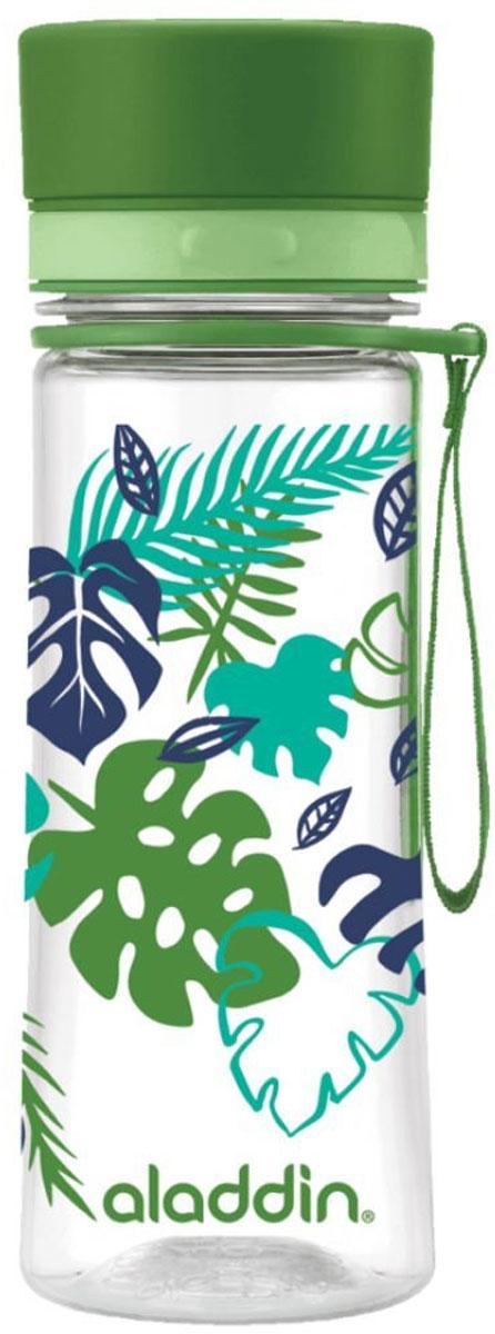 Бутылка для воды Aladdin Aveo, цвет: зеленый, 0,35 л10-01101-089Стильная бутылка для воды Aladdin Aveo изготовленаиз материала Tritan, не сохраняющего запахи, не взаимодействующего снапитками при повышении температуры. Изделие оснащено крышкой,которая плотно и герметично закрывается.Употребление достаточного количества жидкости -важнаячасть спортивного режима. Благодаря эргономичнойформеэту бутылку удобно носить в руках.Можно мыть в посудомоечной машине.