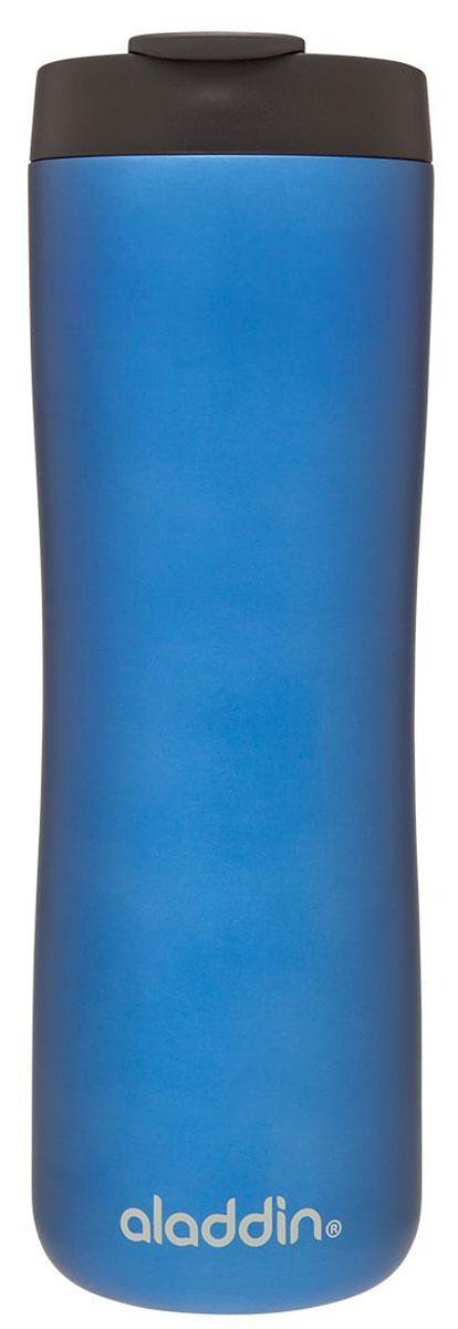 Термокружка Aladdin, цвет: синий, 0,47 л. 10-01919-02210-01919-022Термокружка Aladdin из нержавеющей стали с вакуумной изоляцией. Герметична, сохраняет тепло до 3 часов и холод до 20 часов. Совместима с подстаканником автомобиля.Можно мыть в посудомоечной машине.