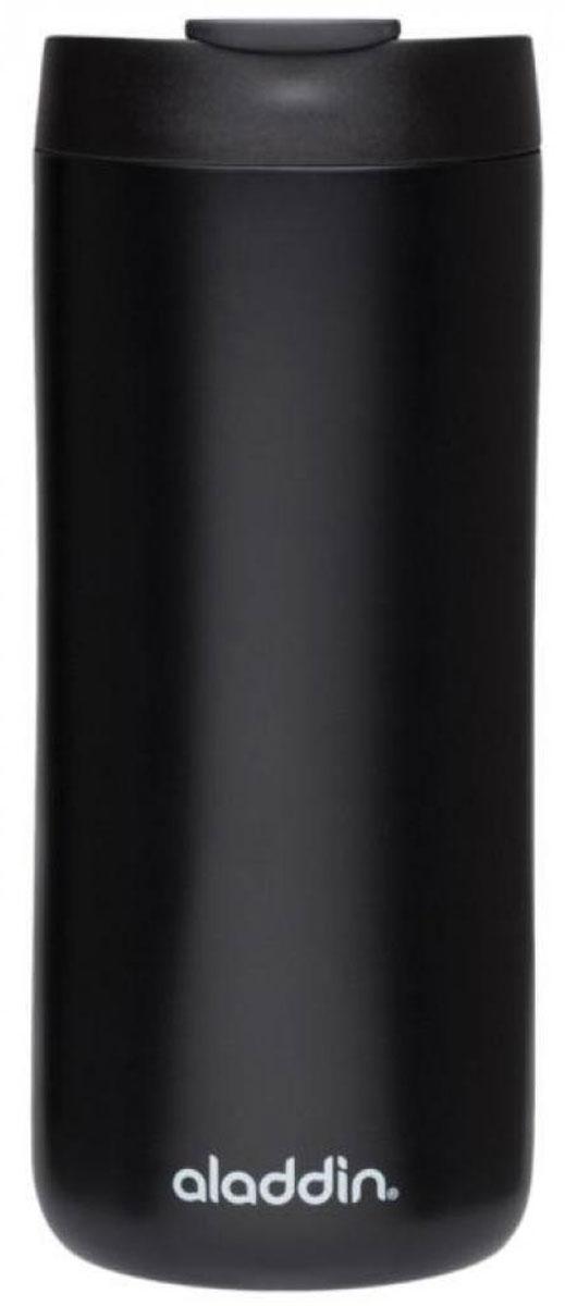 Термокружка Aladdin, цвет: черный, 350 мл aladdin 35 л фиолетовая
