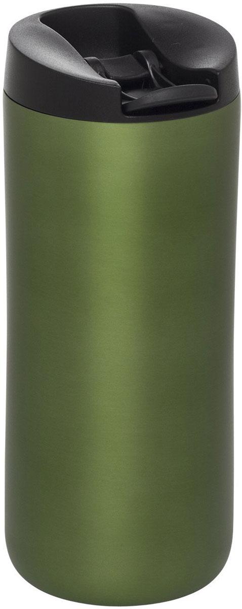 Термокружка Aladdin, цвет: зеленый, 350 мл10-01923-016Термокружка Aladdin из нержавеющей стали с вакуумной изоляцией. Герметична, сохраняет тепло до 3 часов и холод до 20 часов. Совместима с подстаканником автомобиля.Можно мыть в посудомоечной машине.