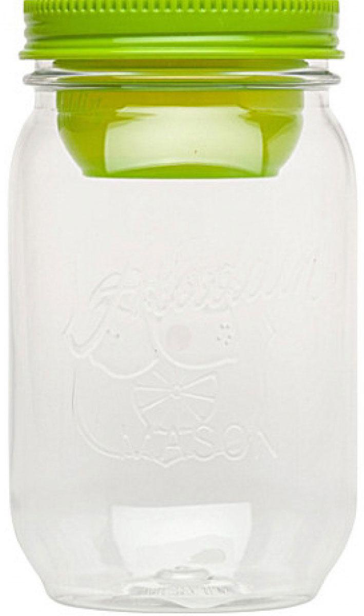 Контейнер Aladdin Mason, цвет: салатовый, 1 л monbento ланч бокс mb original 1 л зеленый белый 18 5х9 4х10 см