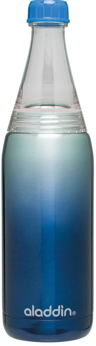 Бутылка для воды Aladdin Fresco, цвет: синий, 600 мл aladdin 35 л фиолетовая