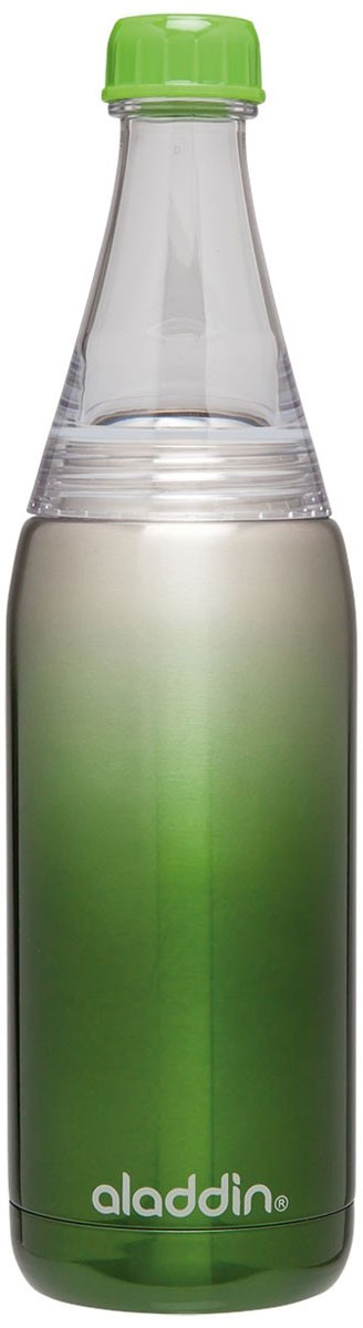 Бутылка для воды Aladdin Fresco, цвет: зеленый, 600 мл aladdin 35 л фиолетовая
