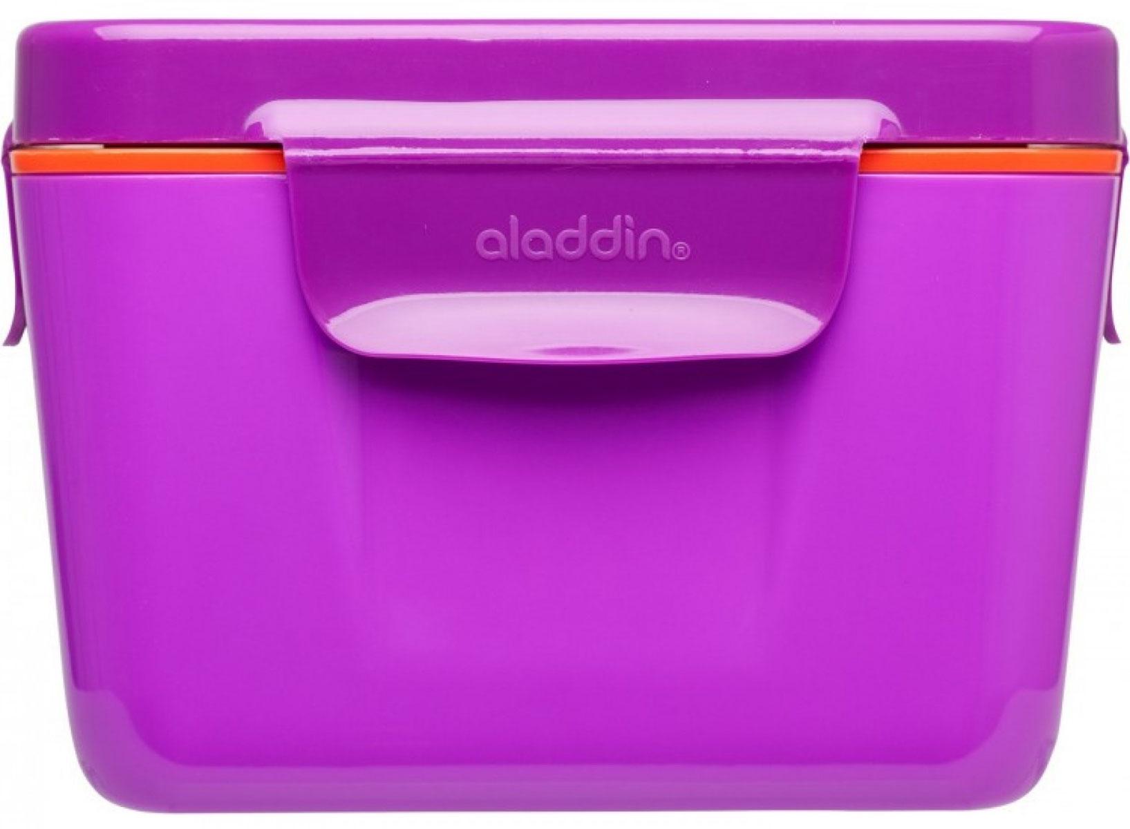 Ланч-бокс Aladdin Bento, цвет: фиолетовый, 0,71 л10-02121-004Удобный и надежный ланч-бокс Aladdin Bento для людей, которые поддерживают активный образ жизни, увлекаются спортом, соблюдают здоровое питание или просто любят наслаждаться блюдами собственного приготовления не только дома. Ланч-бокс оснащен крышкой с защелками и сохраняет содержимое горячим не менее 3 часов. Основными преимуществами является компактность и вместительность изделия, безопасный для здоровья материал и современный, функциональный дизайн.