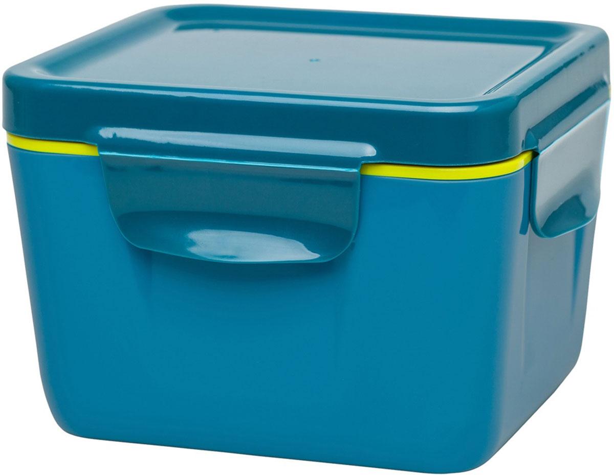 Ланч-бокс Aladdin Bento, цвет: голубой, 0,71 л10-02121-003Ланч-бокс герметичен, cохраняет содержимое горячим не менее 3 часов. Удобная крышка с защелками, легко разбирается для мытья, для использования в микроволновой печи. Цвет – голубой.