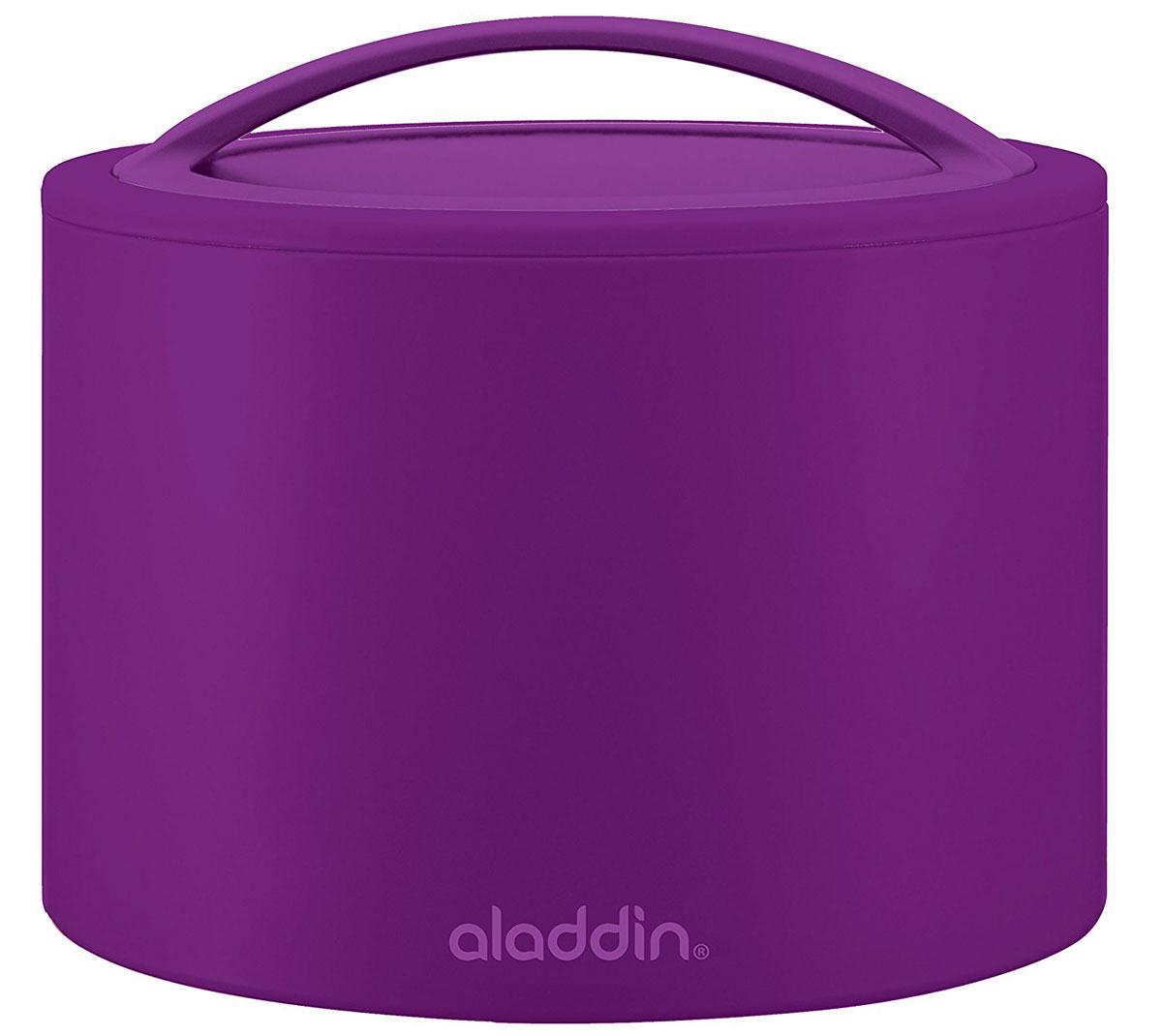 Ланч-бокс Aladdin Bento, цвет: фиолетовый, 0,6 л10-01134-038Удобный и надежный ланч-бокс Aladdin Bento для людей, которые поддерживают активный образ жизни, увлекаются спортом, соблюдают здоровое питание или просто любят наслаждаться блюдами собственного приготовления не только дома. Ланч-бокс оснащен завинчивающейся крышкой и сохраняет пищу горячей или холодной не менее 5 часов. Основными преимуществами является компактность и вместительность изделия, безопасный для здоровья материал и современный, функциональный дизайн.