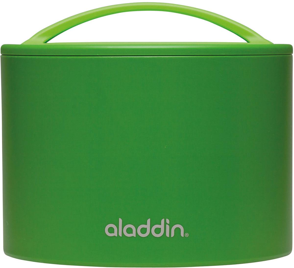Ланч-бокс Aladdin Bento, цвет: зеленый, 0,6 л10-01134-054Удобный и надежный ланч-бокс Aladdin Bento для людей, которые поддерживают активный образ жизни, увлекаются спортом, соблюдают здоровое питание или просто любят наслаждаться блюдами собственного приготовления не только дома. Ланч-бокс оснащен завинчивающейся крышкой и сохраняет пищу горячей или холодной не менее 5 часов. Основными преимуществами является компактность и вместительность изделия, безопасный для здоровья материал и современный, функциональный дизайн.