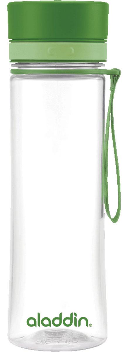 Бутылка для воды Aladdin Aveo, цвет: зеленый, 0,6 л10-01102-079Стильная бутылка для воды Aladdin Aveo изготовленаиз материала Tritan, не сохраняющего запахи, не взаимодействующего снапитками при повышении температуры. Изделие оснащено крышкой,которая плотно и герметично закрывается.Употребление достаточного количества жидкости -важнаячасть спортивного режима. Благодаря эргономичнойформеэту бутылку удобно носить в руках.Можно мыть в посудомоечной машине.