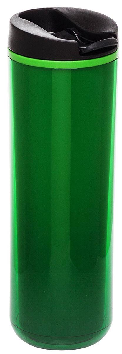 Термокружка Aladdin, цвет: зеленый, 470 мл10-01918-048Термокружка Aladdin с герметичной крышкой из пластика. Совместима с подстаканником автомобиля.Можно мыть в посудомоечной машине.