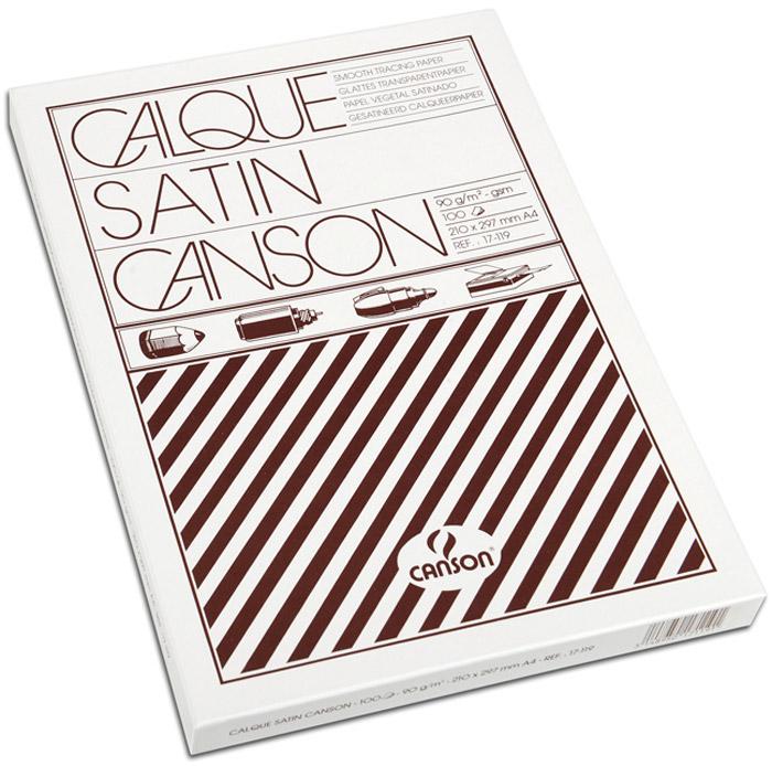 Canson Калька 21 х 29.7 см 90 г/м2 100 листов200017119Высококачественная, прочная, универсальная калька Canson. Не желтеет при длительном хранении. Предназначена для рисования и черчения тушью, карандашом или ручкой. Подходит для печати на струйном или лазерном принтере.Калька 90г/м.кв 21*29.7см в коробке 100л/упак