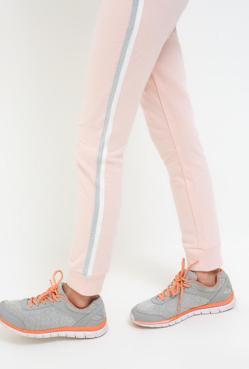 Брюки для девочки Acoola, цвет: светло-розовый. 20210160136_3400. Размер 14620210160136_3400