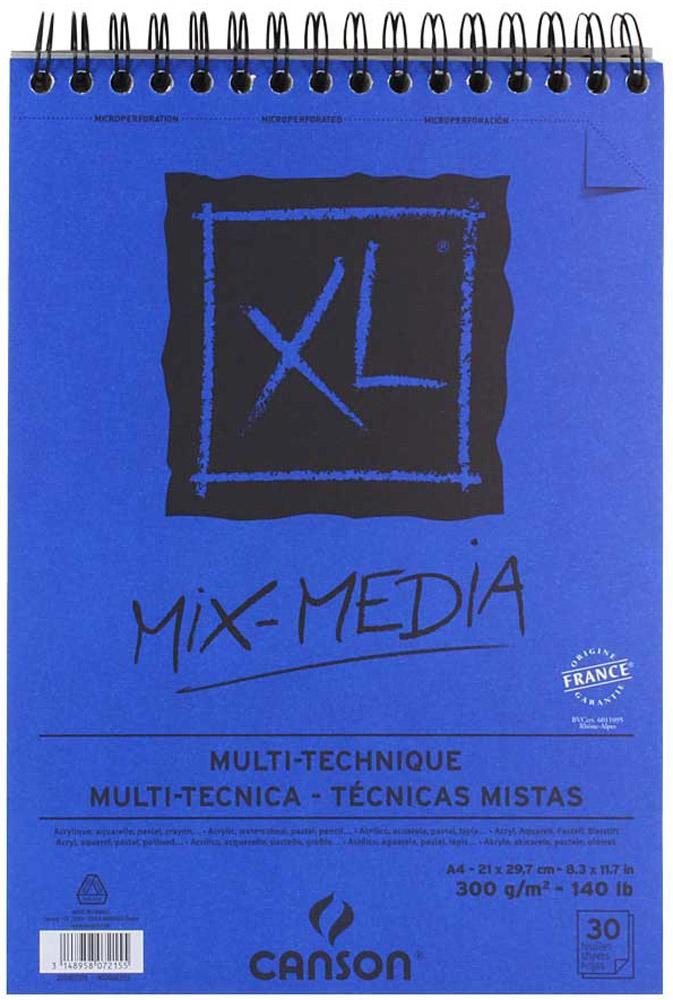 Canson Альбом для смешанных техник Xl Mix-Media 21 х 29,7 см 30 листов - Бумага и картон