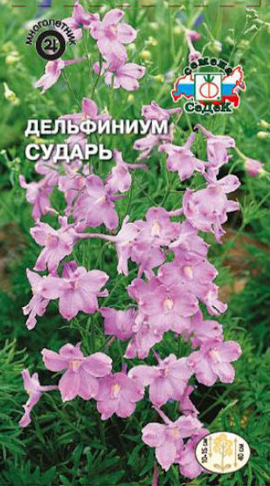 Семена Седек Дельфиниум. Сударь розовый карл семена седек тыква бутылочная декоративная