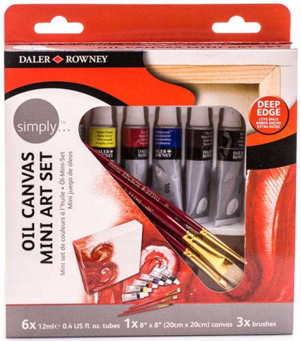 Daler Rowney Набор масляных красок Simply Mini Art Set -  Краски