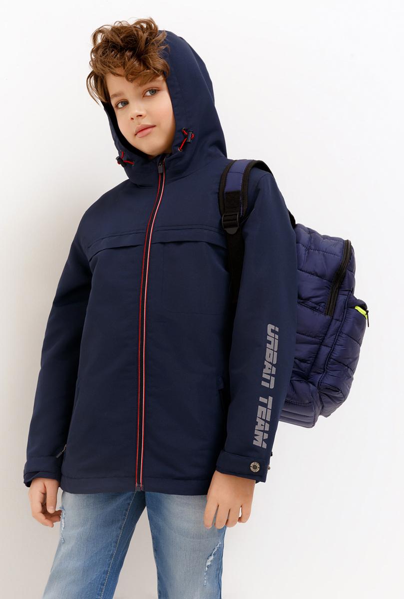 Куртка для мальчика Acoola, цвет: темно-синий. 20110130132_600. Размер 158