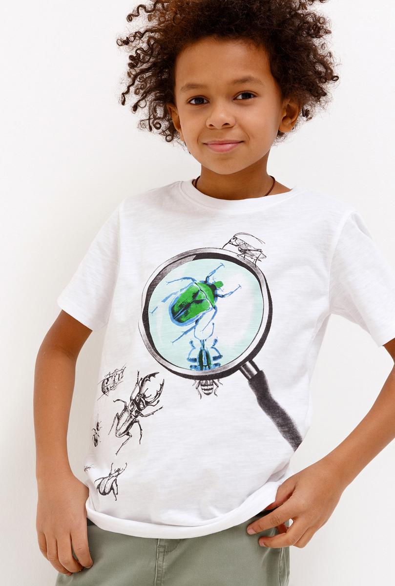 Футболка для мальчика Acoola, цвет: разноцветный. 20110110097_9000. Размер 15220110110097_9000
