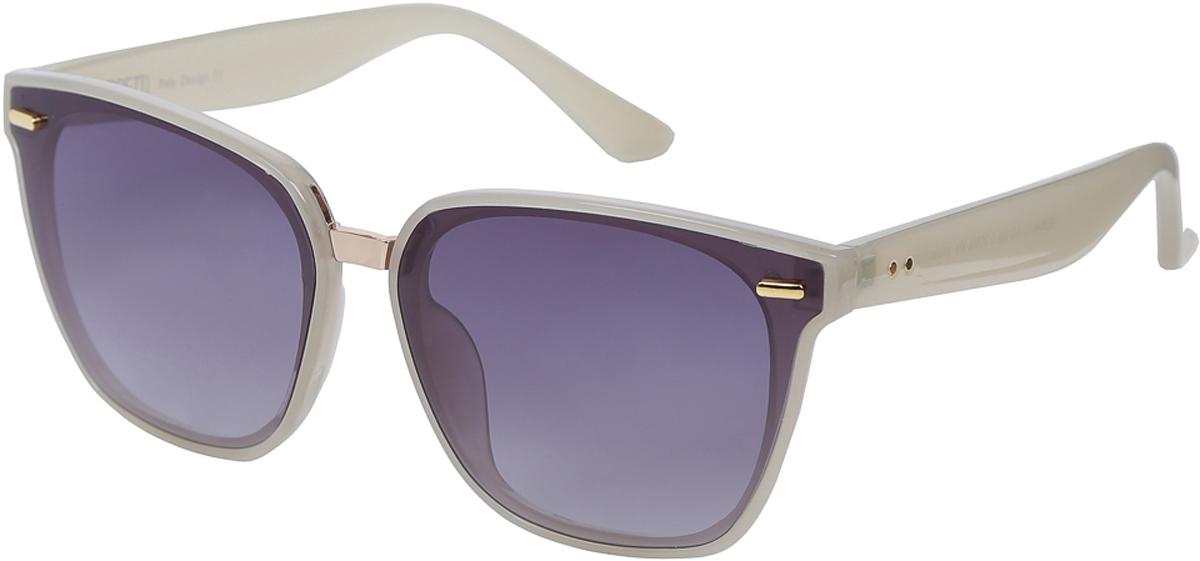 Очки солнцезащитные женские Fabretti, цвет: бежевый. E284413-1G