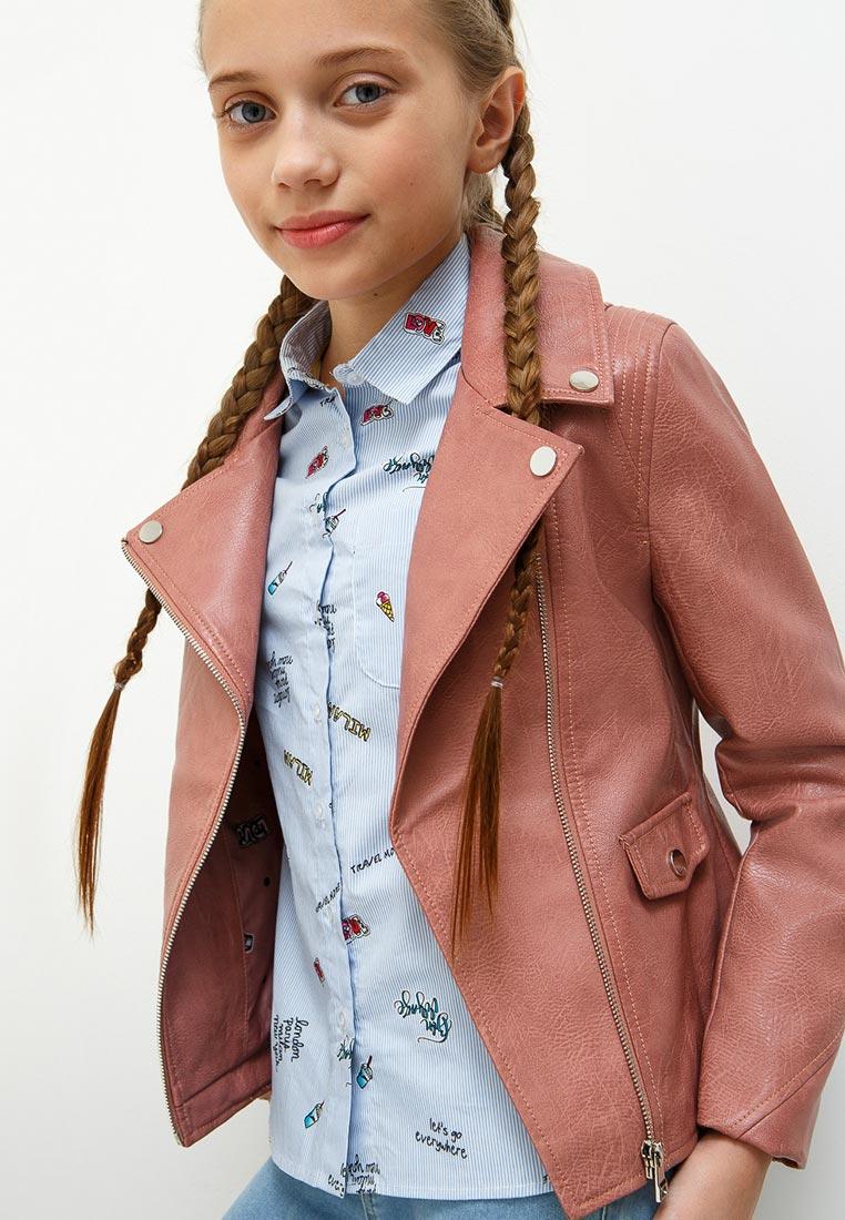 Фото Куртка для девочки Acoola, цвет: светло-розовый. 20220130123_3400. Размер 128