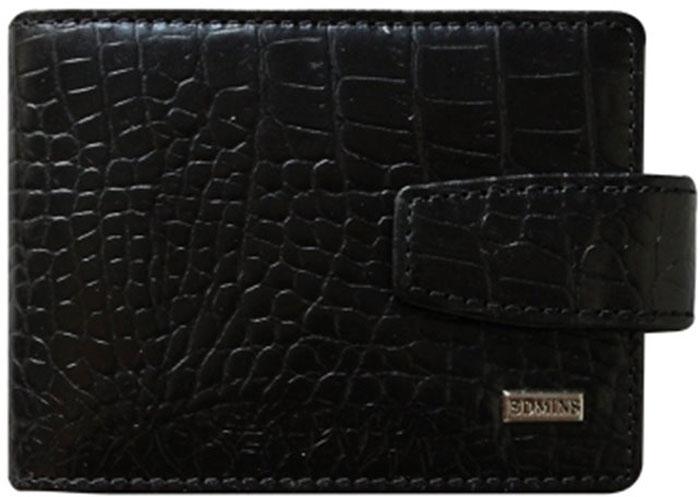 Визитница мужская Edmins, цвет: черный. 1926 CR AML ED black визитница стильный шоппинг