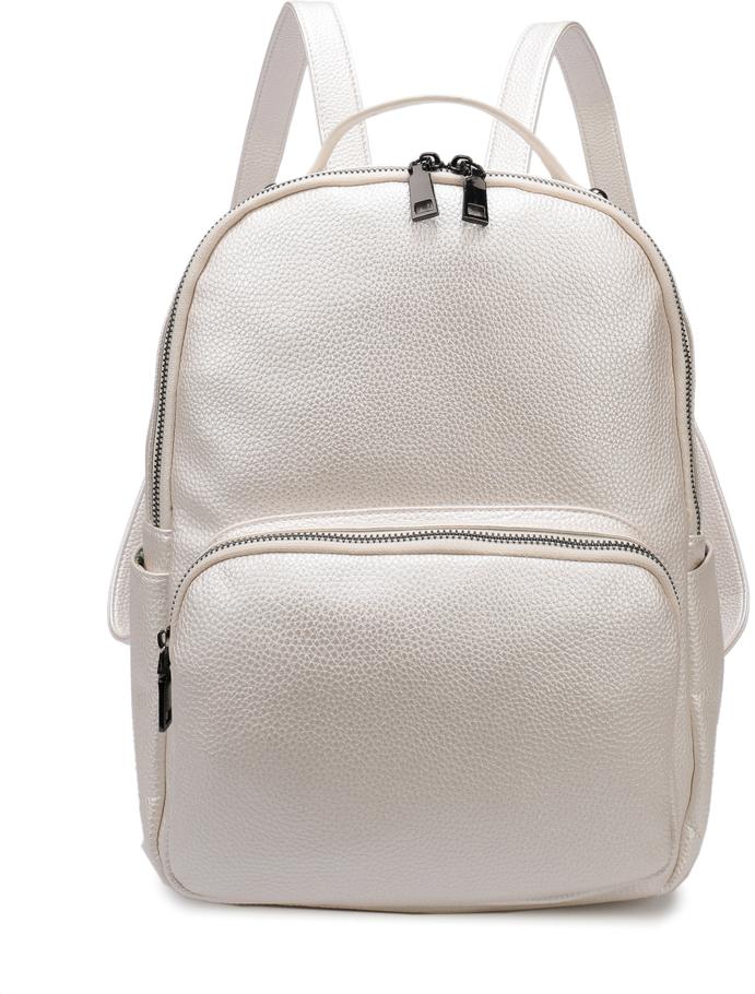 Рюкзак женский OrsOro, цвет: белый, 25 x 30 x 13 см. DS-862/2DS-862/2Рюкзак женский OrsOro выполнен из высококачественной искусственной кожи.Благодаря этому он будет радовать вас долгое время не теряя своих функциональных характеристик и визуальной привлекательности в течениевсего срока эксплуатации. Модный, стильный и оригинальный рюкзак станет великолепным аксессуаром. Любая модница будет приятно удивлена не только внешней привлекательностью рюкзака, но и удобством в использовании. Рюкзак с одним отделением на молнии, внутренний карман на молнии, карман для телефона. Внешний объемный карман на молнии, два боковых кармана, карман на молнии на задней стенке. Рюкзак женский - это стильный аксессуар, который подчеркнет вашу изысканность и индивидуальность и сделает ваш образ завершенным. С таким рюкзаком вы не останетесь незамеченной!