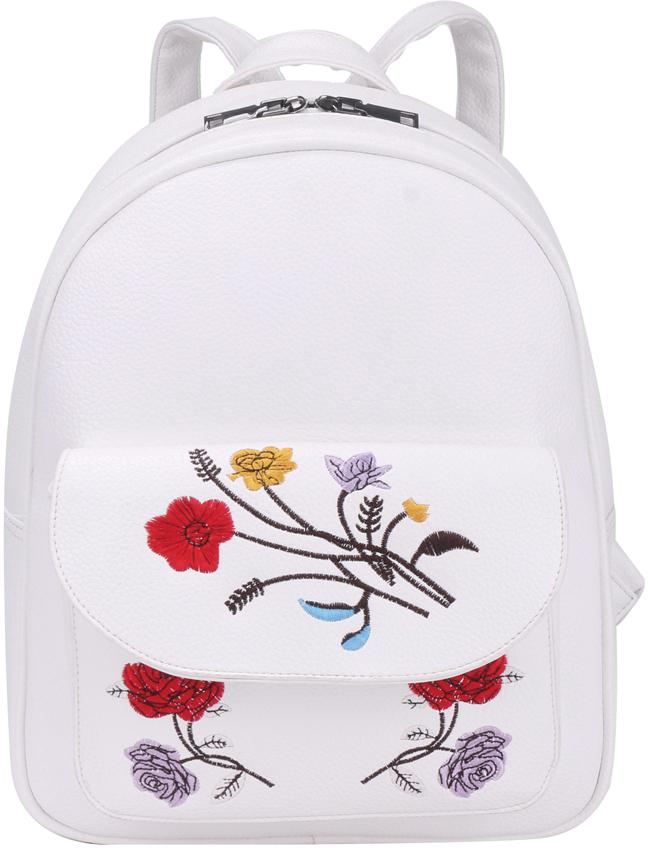 Рюкзак женский OrsOro, цвет: белый, 25 x 32 x 11 см. DS-865/3DS-865/3Рюкзак женский OrsOro выполнен из высококачественной искусственной кожи.Благодаря этому он будет радовать вас долгое время не теряя своих функциональных характеристик и визуальной привлекательности в течениевсего срока эксплуатации. Модный, стильный и оригинальный рюкзак станет великолепным аксессуаром. Любая модница будет приятно удивлена не только внешней привлекательностью рюкзака, но и удобством в использовании. Рюкзак с одним отделением на молнии (2 бегунка), внутренний карман на молнии, два внутренних кармана для телефона. Внешний накладнойкарман на кнопке на передней стенке.Рюкзак женский - это стильный аксессуар, который подчеркнет вашу изысканность и индивидуальность и сделает ваш образ завершенным. С таким рюкзаком вы не останетесь незамеченной!