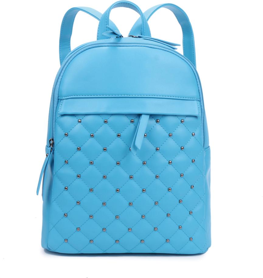 Рюкзак женский OrsOro, цвет: бирюзовый, 28 x 32 x 13 см. DS-844/2