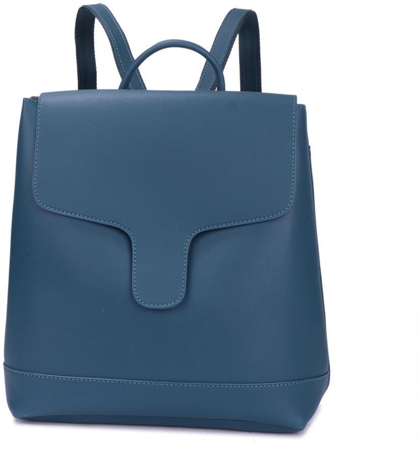 Рюкзак женский OrsOro, цвет: бирюзовый, 30 x 32 x 12 см. DS-882/2