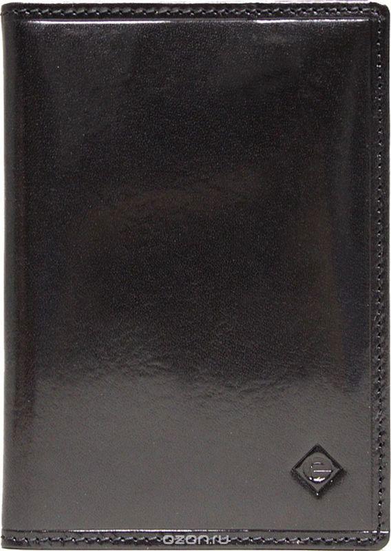 Обложка для паспорта мужская Edmins, цвет: черный. 13843 ED ABA black зонты edmins зонт