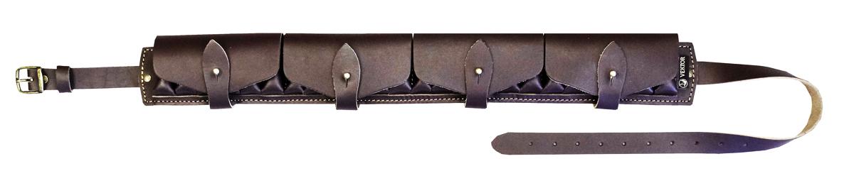 Патронташ закрытый Vektor, цвет: коричневый