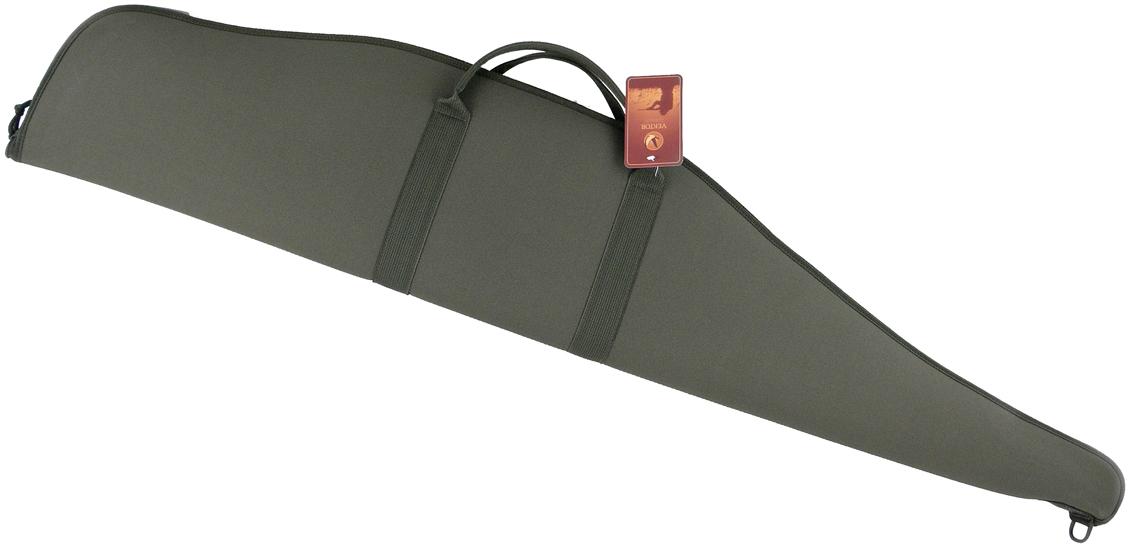 Чехол для винтовки Vektor, цвет: зеленый, длина 127 смС-1Чехол из прочного и износоустойчового материала – кордура, рекомендован для хранения и транспортировки винтовки с прицелом. Чехолзакрывается на молнию с одним замком. Изготовлен с подкладкой из мягкого флока.С одной стороны находится регулируемый ремень, который позволяет переносить чехол не только за ручки в горизонтальном положении, но и наодном плече вертикально. Также на чехле имеется специальная петля, которую удобно использовать при хранении чехла, подвешивая его.Длина внешняя 127 см, внутренняя 121 см.В производстве используется самое современное оборудование и материалы.