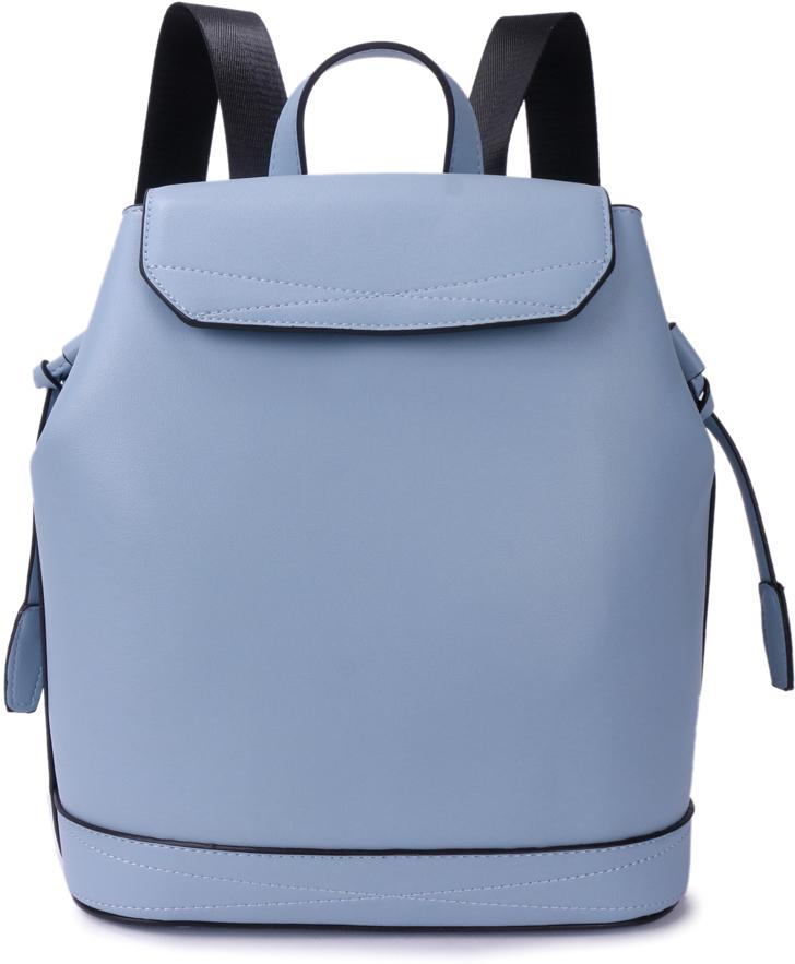 Рюкзак женский OrsOro, цвет: голубой, 25 x 29 x 13 см. DS-852/3 рюкзак детский proff жесткий говорящий том 38 29 21 см с 1 отделением на замке