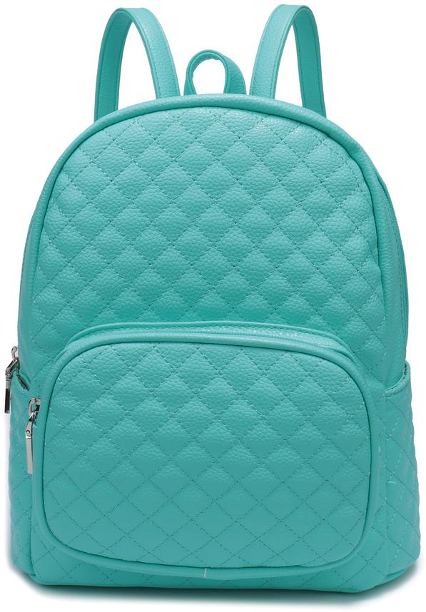Рюкзак женский OrsOro, цвет: голубой, 25 x 30 x 18 см. DS-851/4